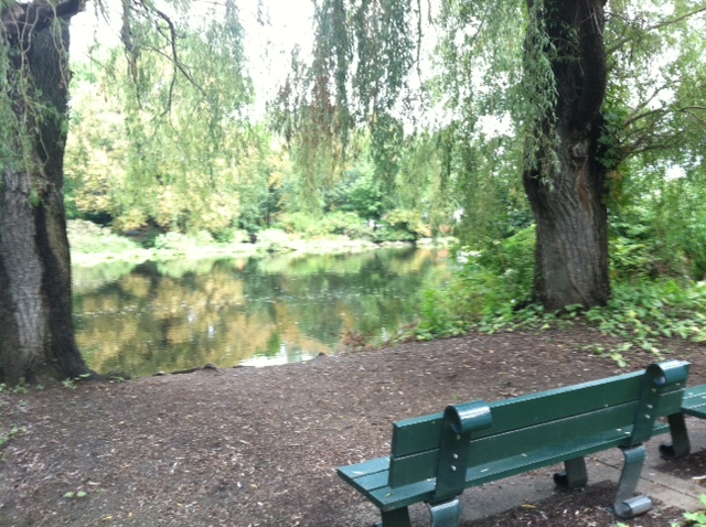 Doesn't that bench look inviting?