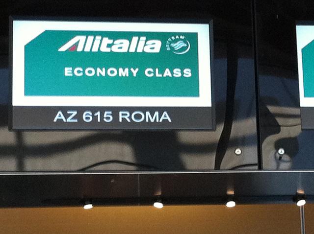 "Well, I'm pretty sure ""Roma"" means ""Rome.""  So far, so good."