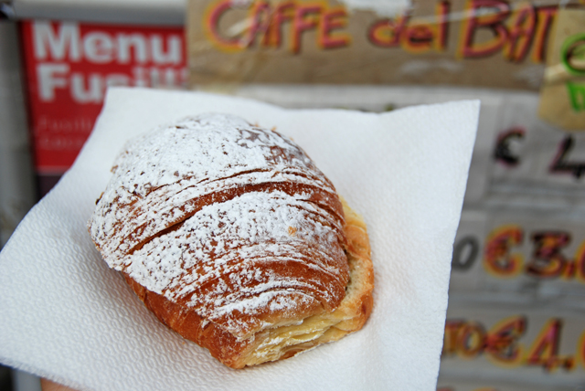 """What?  A croissant filled with nutella doesn't scream """"healthy food"""" to you?"""