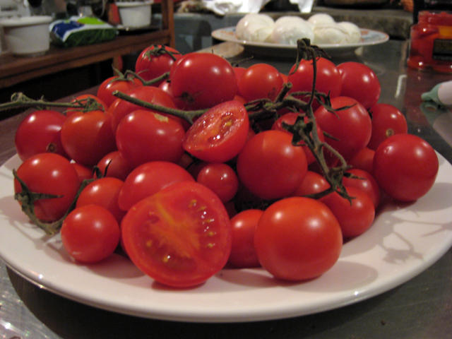 Beautiful, local ingredients prepared simply.  That's how they do things here in Tuscany!