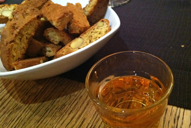 Well, good to know I hadn't completely lost my mind.  I do love Vin Santo.