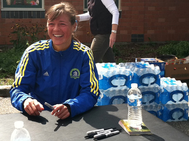 When it's all over, you can even snag an autograph from Boston marathon winner Uta Pippig.
