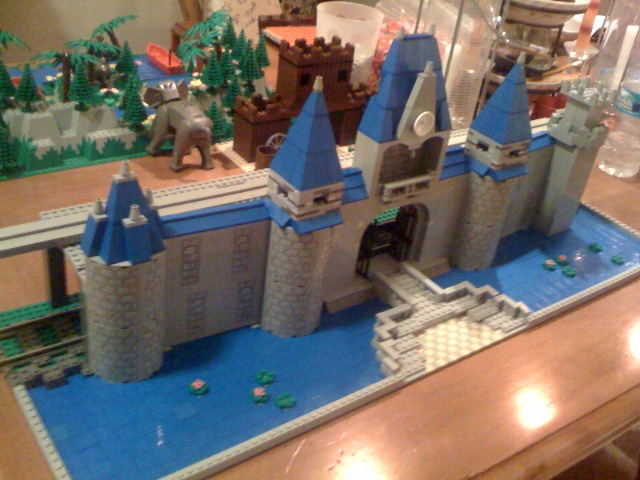 No offense to the amazing flickr user who made this Lego Castle.  It's awesome.  Probably more awesome than Cinderella's actual castle at Disney Land.