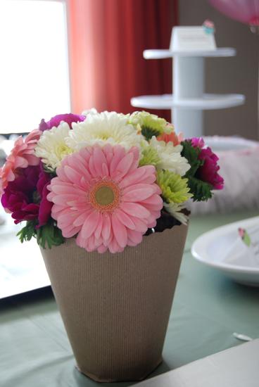 Cupcake flowers...