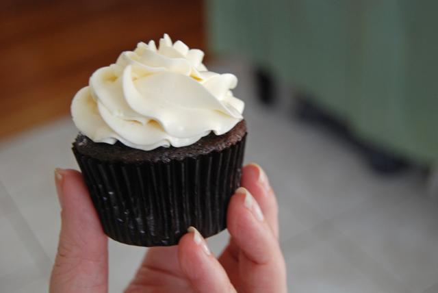Finally. A cupcake made from...cupcake.