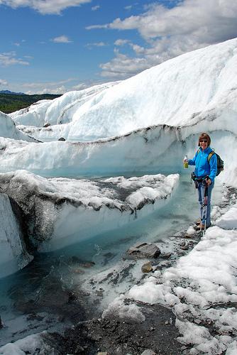 Mmm...glacier water.
